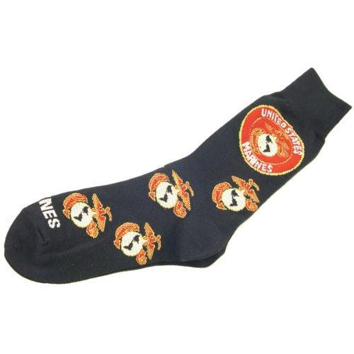 Men's Us Marines Socks (Black)