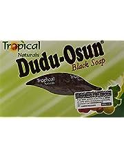 Dudu Osun czarne mydło afrykańskie, 150 g, naturalne i czyste, 6 sztuk