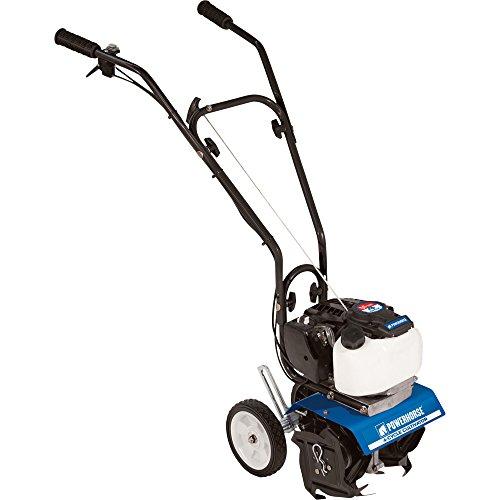 Powerhorse Mini Cultivator - 10in. Tilling Width, 40cc 4-Cyc