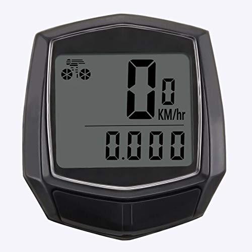 OurLeeme Tachimetro per Bici Computer da Ciclismo Impermeabile Tachimetro per Bicicletta cablato Retroilluminazione Display LCD Distanza di rilevamento AVS velocit/à Tempo Contachilometri