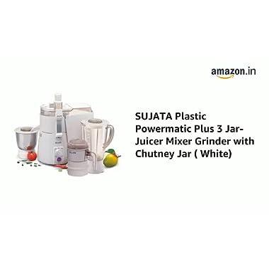 Sujata Mixer Grinder, 900W (White) 5