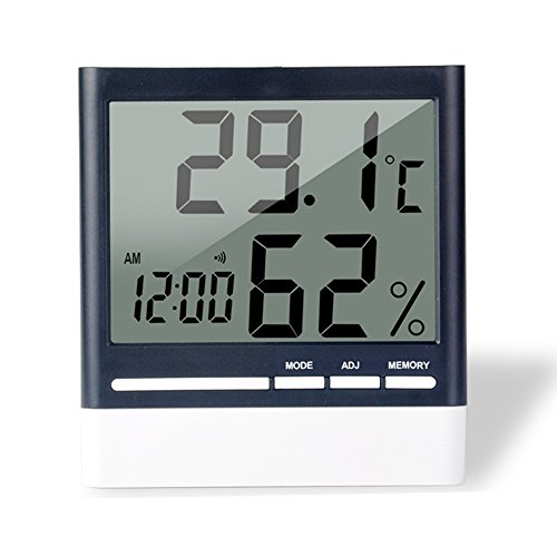 Digital Hygrometer Indoor Thermometer Humidity Monitor with Temperature Humidity Gauge by Mosuly