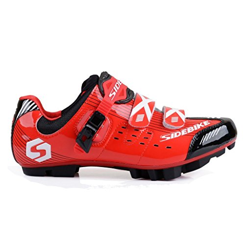 Mtb SIDEBIKE Synthetic Cycling red Adult's S03 Road Shoe MTB Aq0CrHRqxw