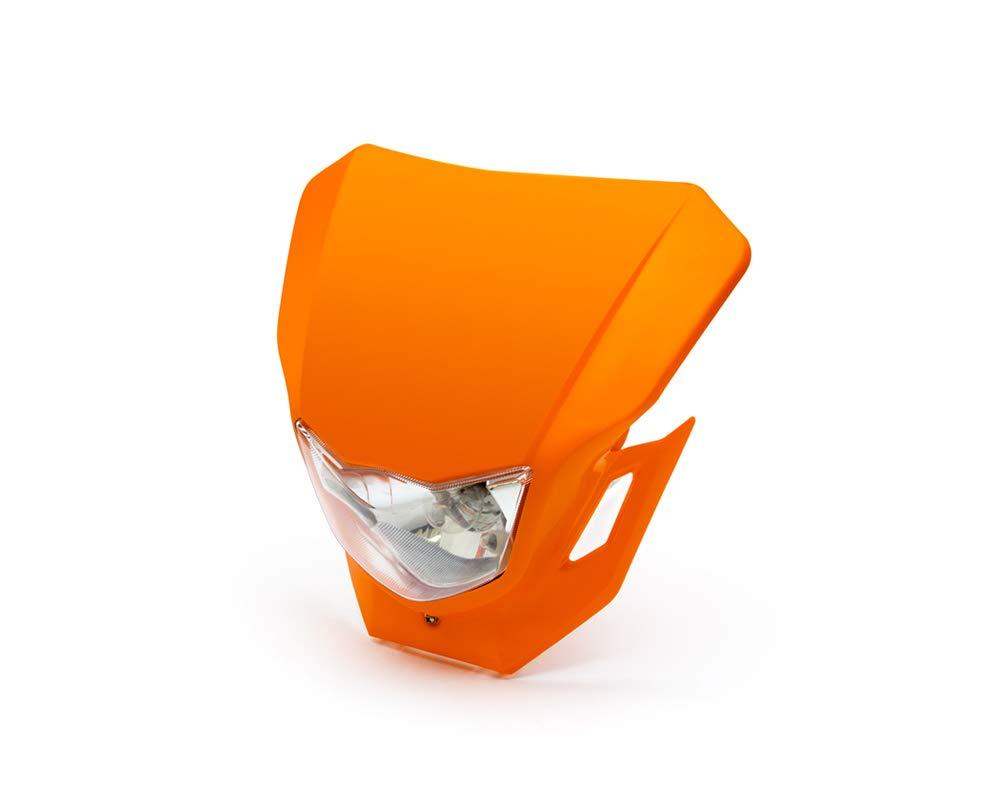 12V 35W Frontscheinwerfer Motorrad Maske Supermoto /& Streetfighter Orange