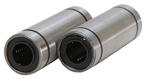 8mm ID x 15mm OD x 45mm L Linear Ball Bearing (2 pack) ServoCity 535226