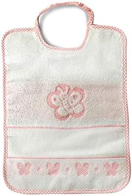 Babero Bebé Mariposa Cierre con goma elástica – 100% algodón – 31 x 23 cm, rosa: Amazon.es: Bricolaje y herramientas