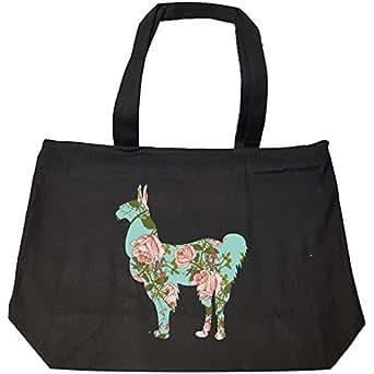 Amazon.com: Llama Floral Design Flower Theme Gifts Alpaca