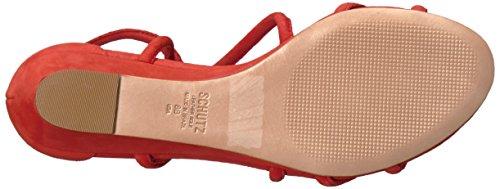 Schutz Women's Margarete Flat Sandal Nice Orange vVwtTZqCMW