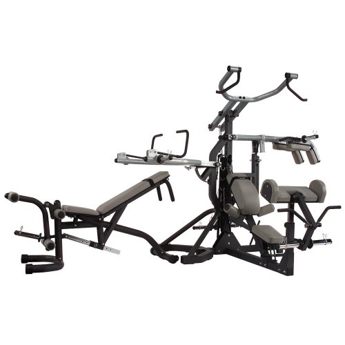 Body-Solid Freeweight Leverage Commercial Gym Package Body Solid Inc