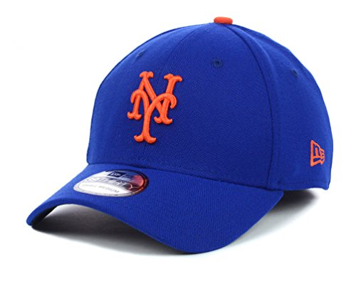 MLB New York Mets Team Classic Game 39Thirty Stretch Fit Cap, Blue, (New York Mets Apparel)