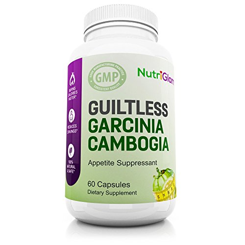 NutriGlam Guiltless Garcinia Cambogia Complex | Natural HCA Carb Blocker for Men & Women | Dietary Supplement | 60 Premium Pills | Fast and Natural | Reduces Food Cravings | Increase Energy For Sale