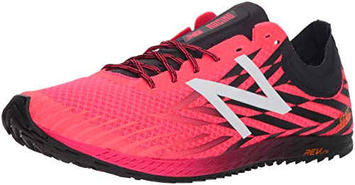 New Balance Men's 9004 Cross Country Running Shoe, Bright Cherry/Black, 9 D US