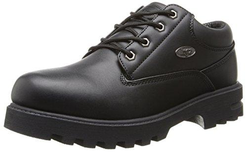 Lugz Men's Empire Lo WR Thermabuck Boot, Black, 8 D US