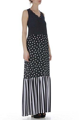 Jo Liu Blau W18132T9775 Dress Frauen gqHdq6Px
