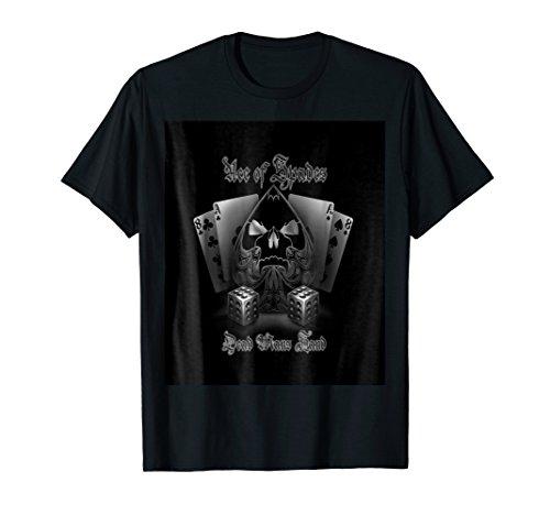 Wild West - Poker - Ace of Spades - Dead Man's Hand, t shirt
