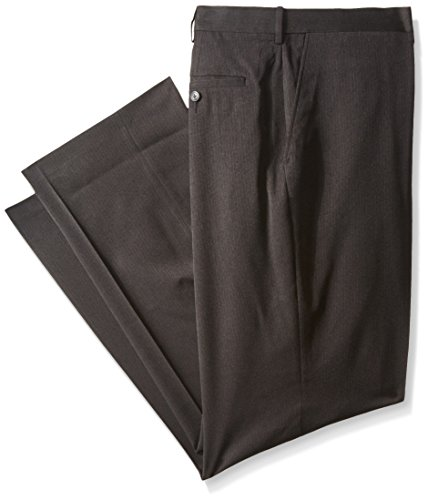 Haggar Men's Big-Tall Performance Heather Pinstripe Suit Separate Pant, Charcoal, 48x30