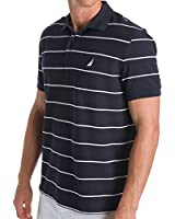 Nautica Performance Wicking Striped Polo Shirt (K42051)