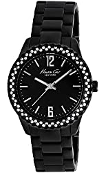 Kenneth Cole New York Three-Hand Brass - Black Women's watch #KCW4009