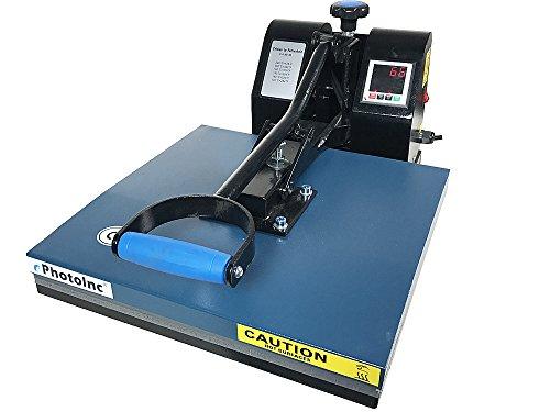 ePhotoInc NEW 15'' x 15'' Digital Clamshell Heat Press Transfer Sublimation Machine T-shirt EPH15BU by ePhotoinc