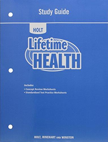Lifetime Guide (Lifetime Health: Study Guide)