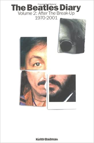 Book The Beatles Diary Volume 2: After The Break-Up 1970-2001