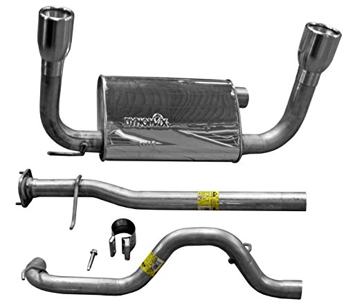Hummer Exhaust System - Dynomax 39425 Stainless Steel Exhaust System