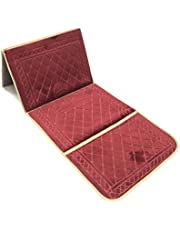 Foldable Prayer mat and Backrest 2 in 1,G-3 Red
