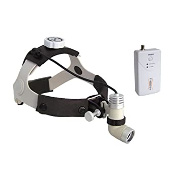 Dental Power 3W LED Surgical Medical Head Light Lamp Headlight AC/DC KD 202A