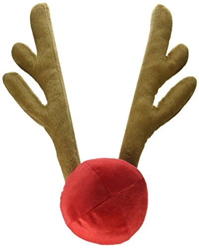 Car Costume Kit (*Reindeer Antlers and Red Nose Car Kit*FREE Christmas Fun Ebook*Rudolph Ears Car Costume*Reindeer Antlers for Car*Accessories for Car Exterior*Super)