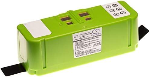 vhbw Li-Ion batería 4000mAh (14.4V) compatible con iRobot Roomba 690, 691, 695, 696, 801, 805, 850, 860, 877, 890, 891, 895 robot limpiasuelos: Amazon.es: Hogar