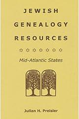 Jewish genealogy resources: Mid-Atlantic states