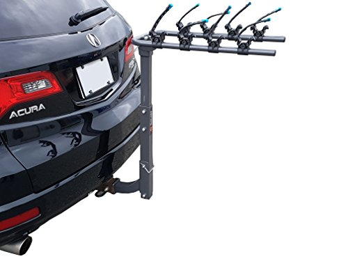 Galaxy Auto Swing Away Hitch Mount Bike Rack for 2 Bikes - Fits 2'' Receivers ONLY by Galaxy Auto (Image #3)