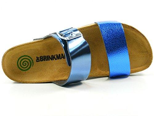 Dr. Brinkmann Womens-Pantolette Blau 701144-5 Blue kQQqLn