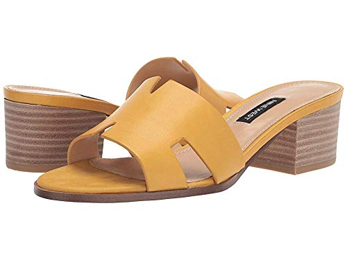 Nine West Women's Aubrey Sandal Yellow 11 M US