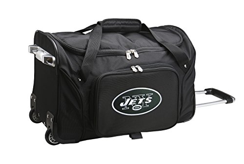 NFL New York Jets Wheeled Duffle Bag