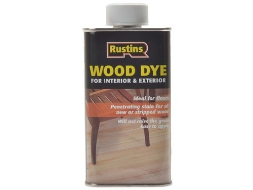 Rustin Wood Dye Light Oak 1Litre - (WDLO1000)