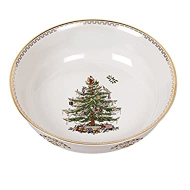 Spode Christmas Tree Bowl, Large, Gold