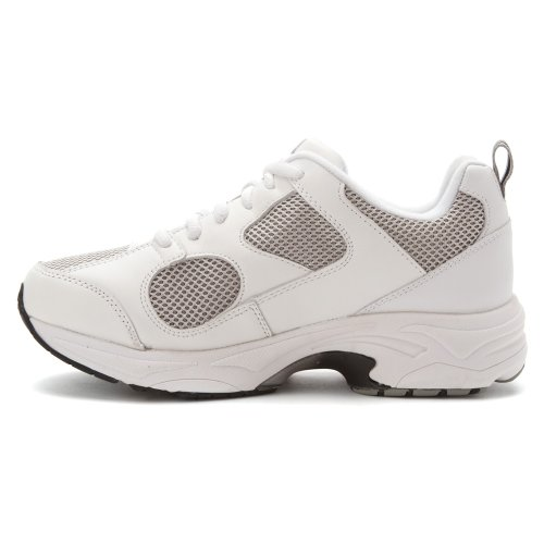 Scarpe Da Ginnastica Donna Sneakers Weakers In Bianco / Grigio