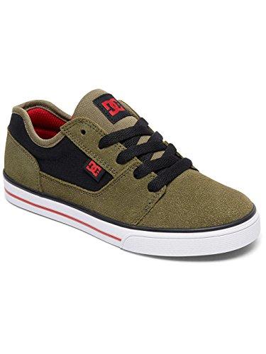 DC Shoes Tonik, Zapatillas Para Niños Olive/Black