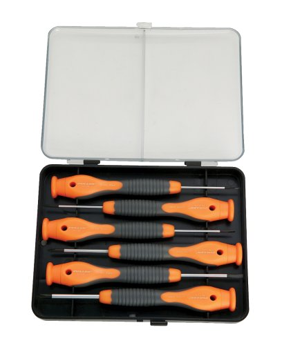 Fuller Tool 135-1806 6-Piece Precision Screwdriver Set with Composite Grips The Innovak Group Inc.