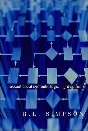 Essentials of Symbolic Logic