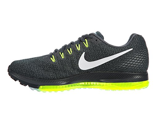 Nike Mens Zoom All Out Bassa Alghe / Bianco / Volt / Nylon Nero Scarpe Da Corsa 10,5 M Us