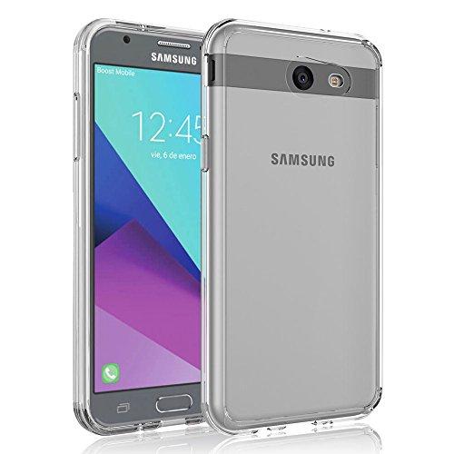 Case for Samsung Galaxy J3 Emerge/J3 2017/J3 Prime/J3 Mission/J3 Eclipse/J3 Luna Pro/Sol 2/Amp Prime 2/Express Prime 2, SYONER [Scratch Resistant] Ultra Slim Clear Phone Case Cover