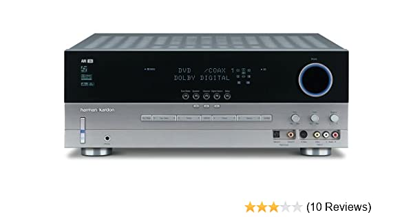Amazon.com: Harman Kardon AVR 135 6.1 Channel Surround Sound Audio/Video Receiver (Discontinued by Manufacturer): Home Audio & Theater