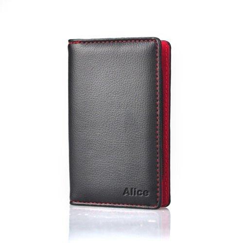ALICE Manicure / Pedicure Kit, 8 PCS Manicure Set, Leather Grooming Kit