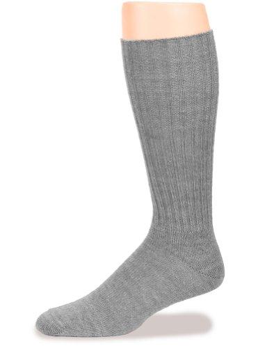 warrior-alpaca-socks-womens-ribbed-casual-alpaca-socks-smoke-m
