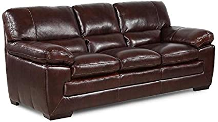 Amazon.com: 6983 Dallas Leather Sofa: Kitchen & Dining