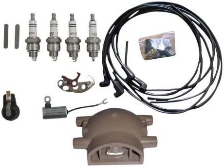 Tune Up Kit for Ford 9N 2N /& 8N Tractors with Front Mount Distributor TUKFD01