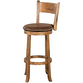 Amazon Com Sunny Designs 1882ro Sedona Swivel Stool With