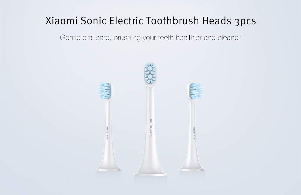 HAPQIN Xiaomi Home Sonic Cepillo de Dientes eléctrico General Brush Head Oral Care Tool 3pcs: Amazon.es: Hogar